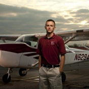Student Pilot Marty Dy