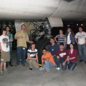 EKU Aviation students at UPS in Louisville