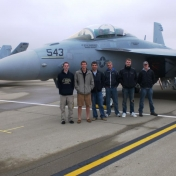EKU Aviation students at Thunder Over Louisville 2012