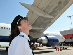 Annmarie Savitski, first officer for Delta Air Lines based at Metro Airport in D