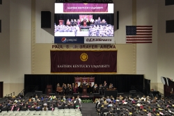 College of Business and Technology graduation ceremony