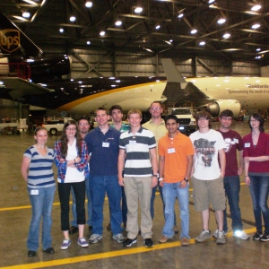 EKU Aviation students at UPS